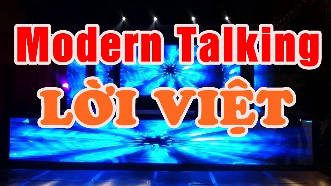 Modern Talking ( Lời Việt ) – Nhạc Sống Thanh Ngân