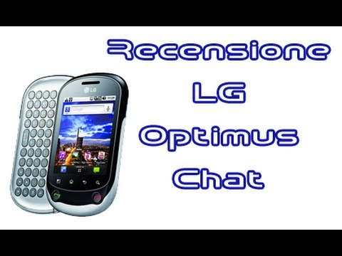 LG Optimus Chat, recensione in italiano by AndroidWorld.it