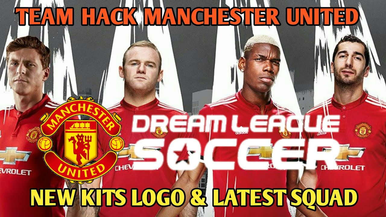 Create Manchester United Latest Squad Kits And Logo In DLS