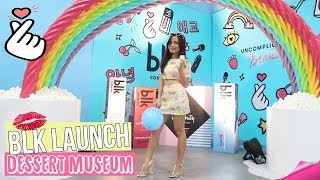Vlog : DESSERT MUSEUM TOUR + BLK COSMETICS K-BEAUTY LAUNCH!
