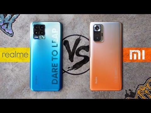 Лучший Смартфон до $300 🔥 Xiaomi Redmi Note 10 Pro vs realme 8 Pro