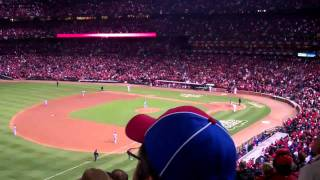 St. Louis Cardinals 2011 World Series Game 6 Winning Homerun