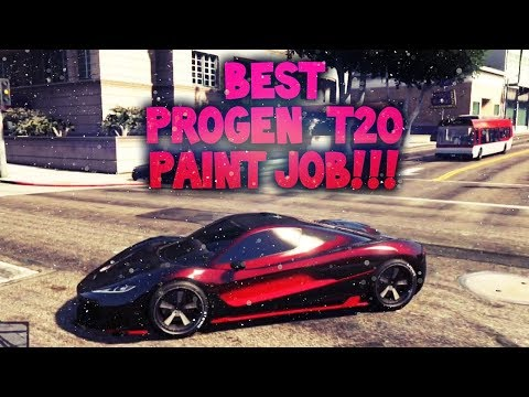 GTA5: T20 Paint Jobs ( Dark Red Velvet-Solar Eclipse)