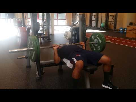 Bench-press personal session