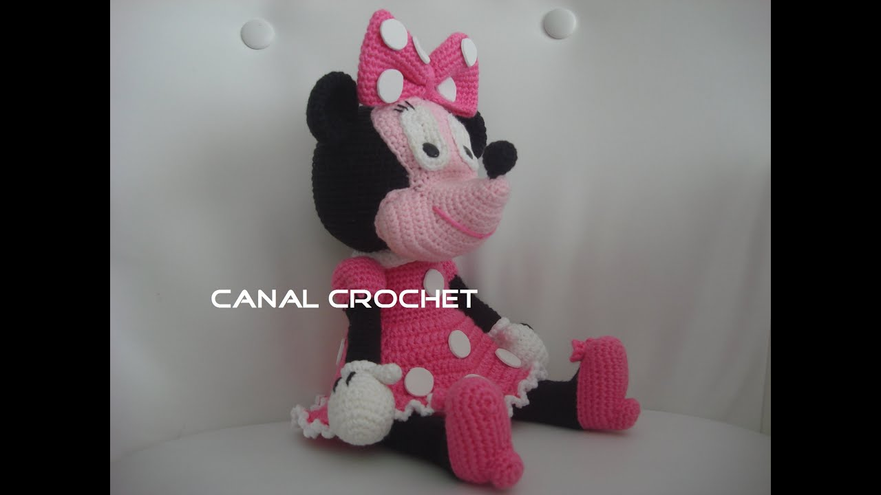 Minnie amigurumi tutorial - YouTube