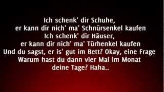 Kollegah - Bad Girl (Lyrics) HD
