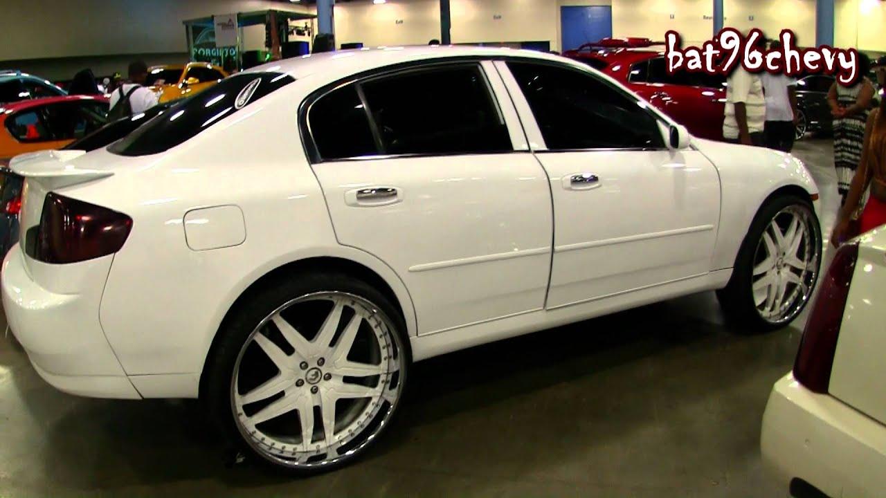 4dr infiniti g35 sedan on 26 forgiatos wheels 1080p hd youtube infiniti g35 sedan on 26 forgiatos wheels 1080p hd youtube vanachro Images