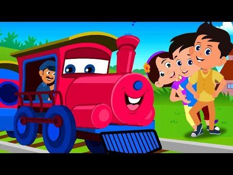 Chhuk Chhuk Rail Chali | छुक छुक करती रेल चली | Hindi Poems | Hindi Nursery Rhymes | Bal Geet Hindi