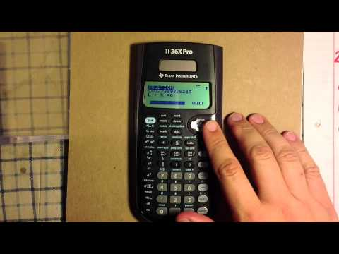 TI 36X Pro Solve For X - Texas Instruments