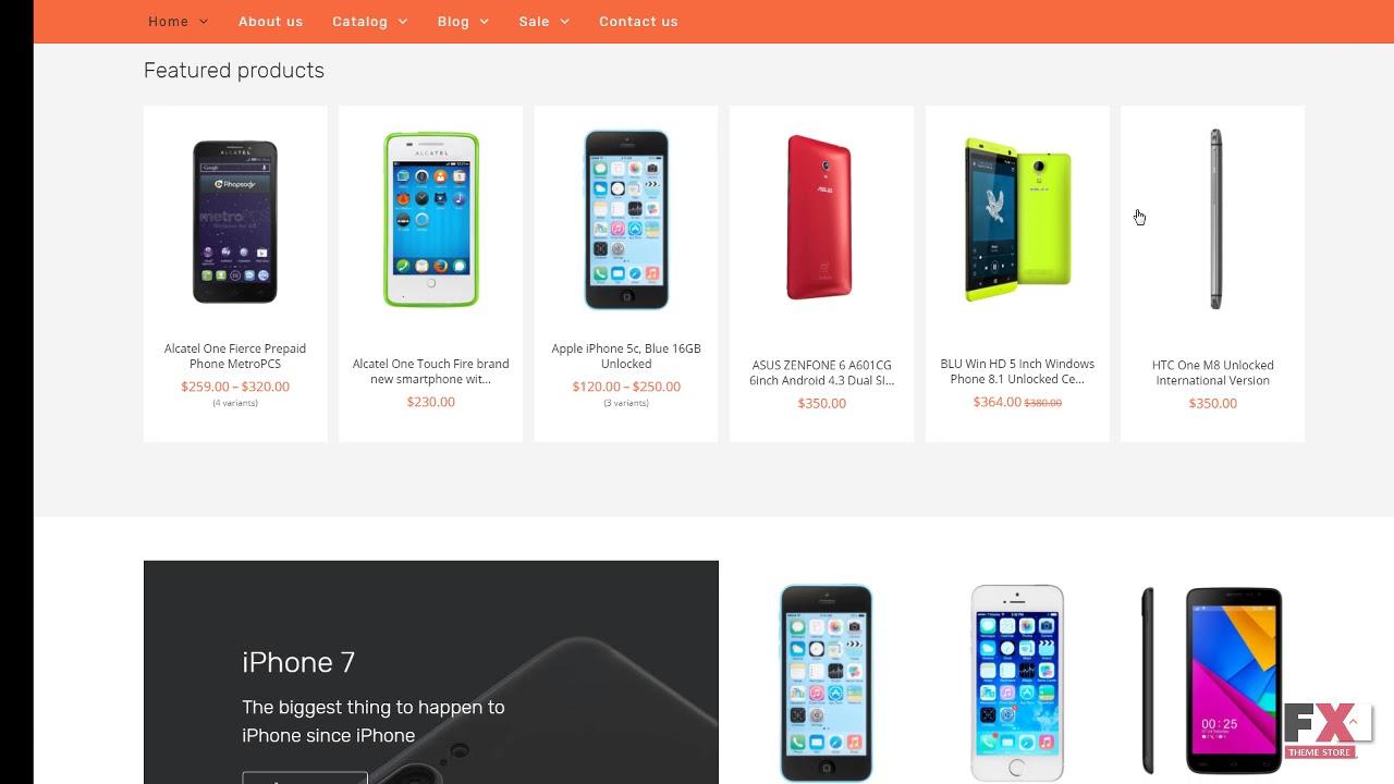 Mobile Store Responsive Shopify Theme Tmt Free Template Shouta Dir