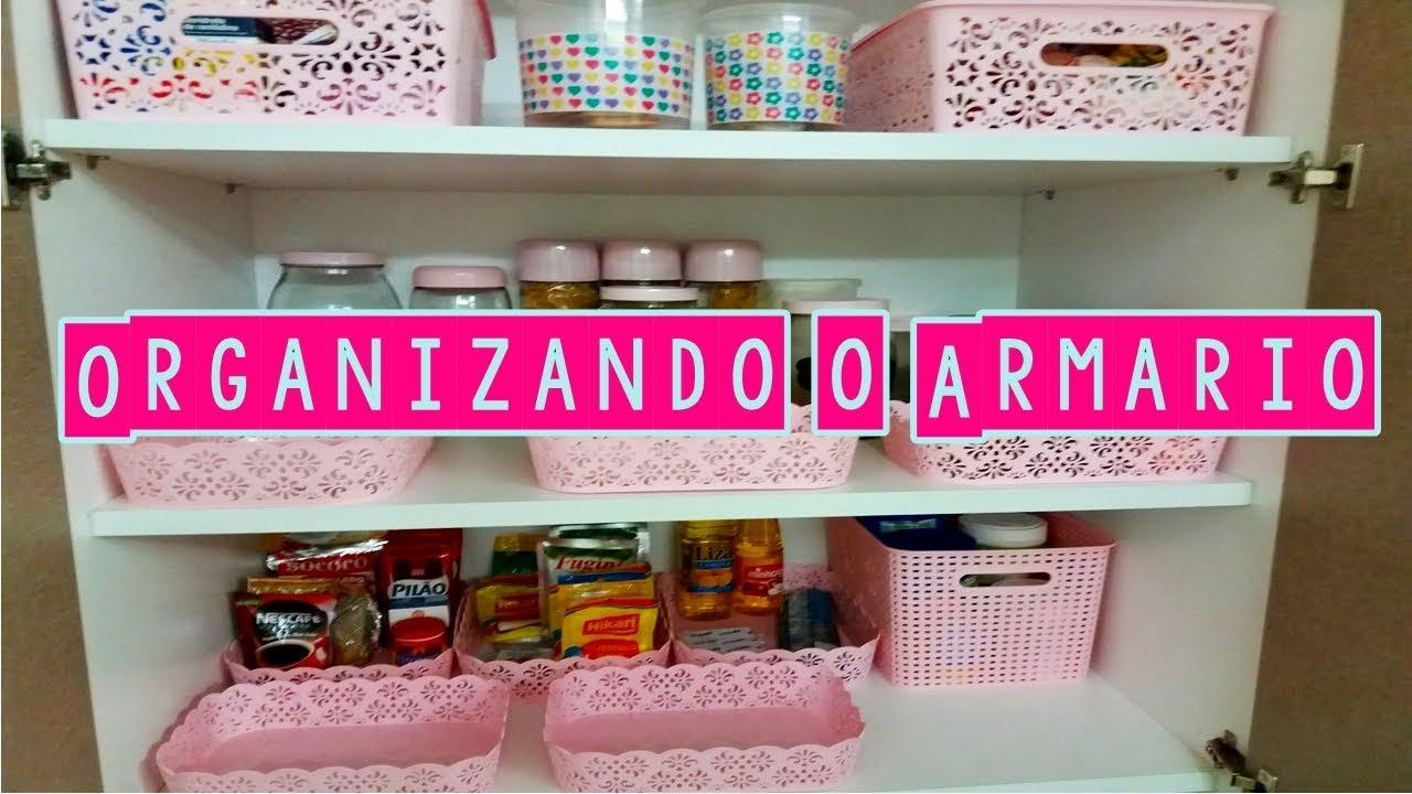Organizando o arm rio comprinhas de organizadores rosa - Organizadores de armarios ...