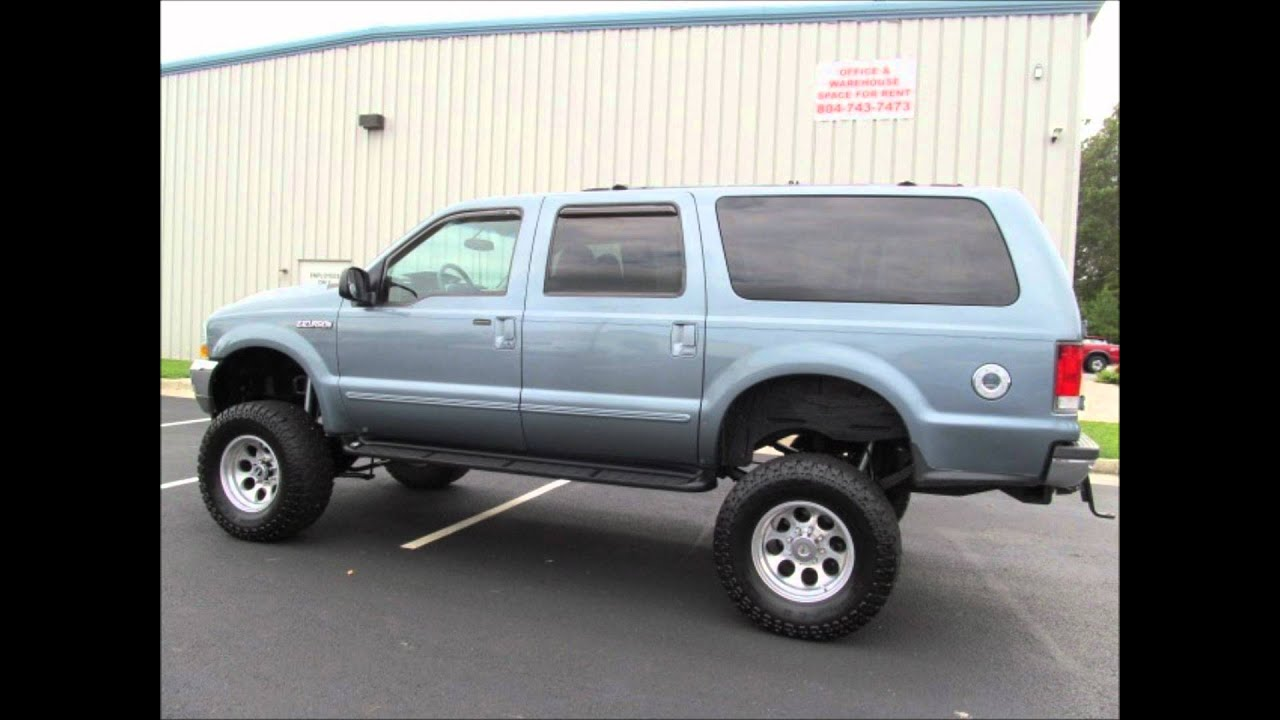 2000 ford excursion lifted for sale youtube. Black Bedroom Furniture Sets. Home Design Ideas