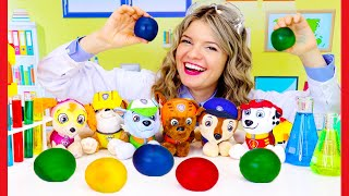Toddler Learning Video: Easy Science Experiments For Toddlers With Paw Patrol And Speedie DiDi