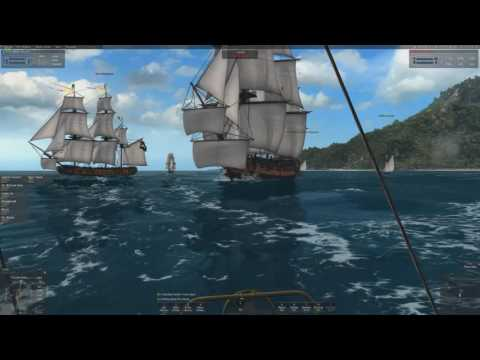 Naval Action-Gunboat Capturing an Indiaman