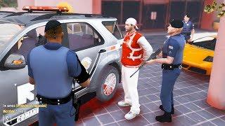 GTA 5 ROLEPLAY POLICIAL - ACHOU CARRO NA RUA E PEGOU! - ROTA EM AÇÃO !