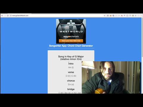 Part 2: Songwriter App: Chord Generator Demo (Music+Coding)