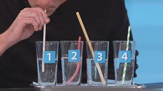 Environmentally-Friendly Straws Put to the Test