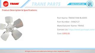 Trane Parts | Trane Furnace Parts | HVAC Parts and Accessories- PartsAPS