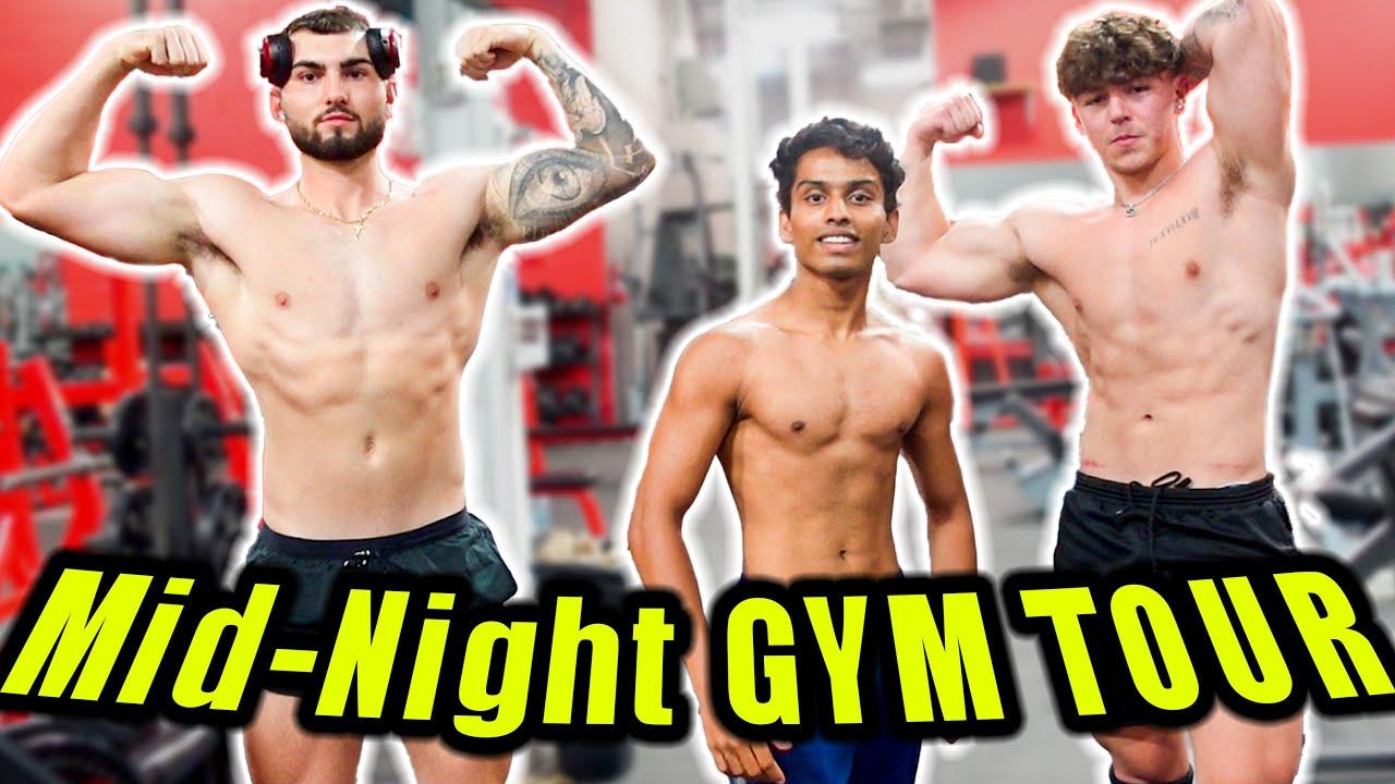 MID-NIGHT GYM TOUR IN CANADA 🏋️💪 - தமிழில்  | VelBros Tamil