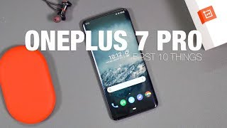 Download OnePlus 7 Pro: First 10 Things to Do Mp3 and Videos