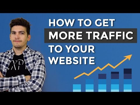 How To Get More Traffic To Your Website - How To Promote You