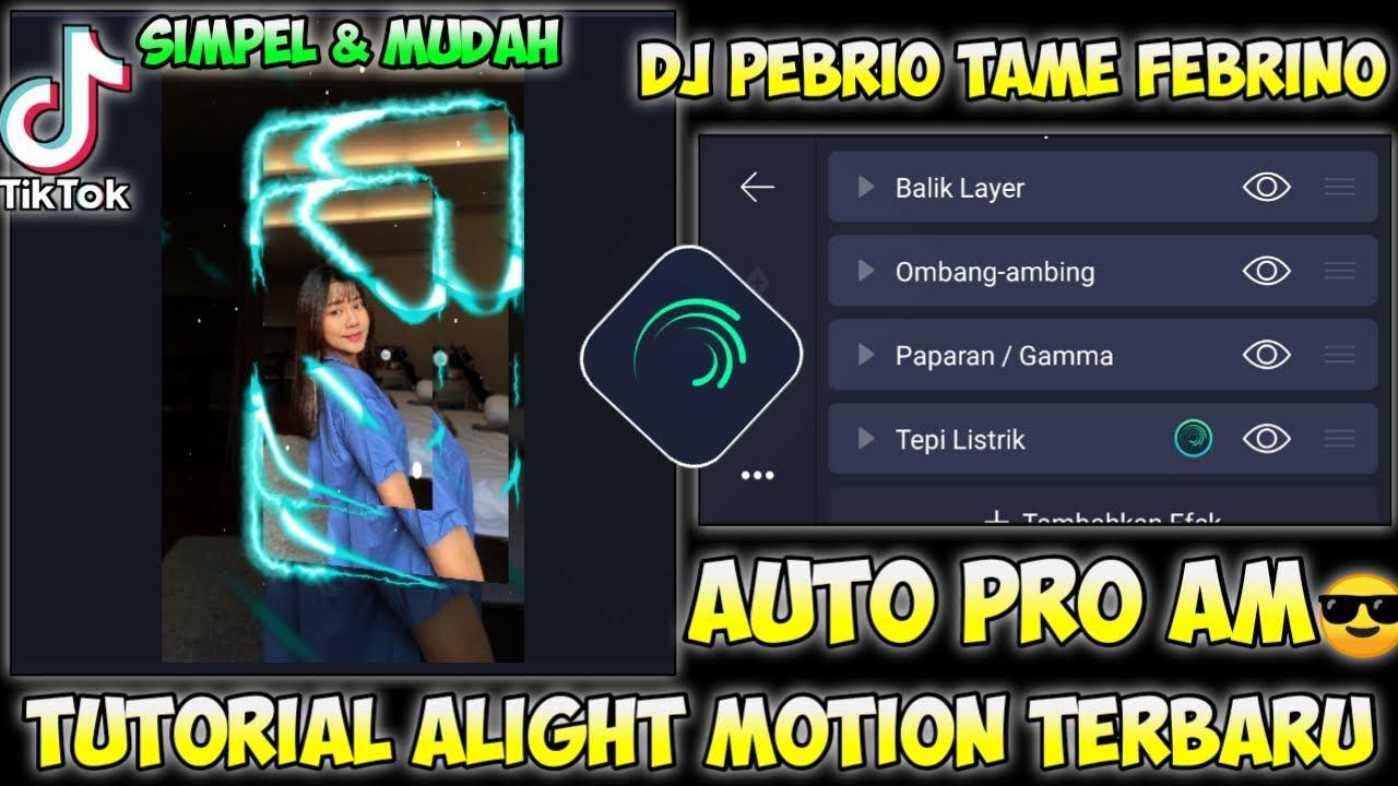 TUTORIAL JEDAG JEDUG 3D STYLE BARU DI ALIGHT MOTION - DJ PEBRIO TAME PEBRINO