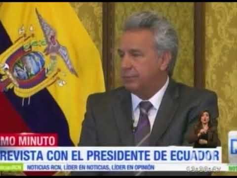 Presidente Moreno suspende a Ecuador como garante de los diálogos de paz con el ELN