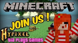 MINECRAFT LIVE STREAM !! - Bedwars, Murder Mystery and much more ! COME JOIN THE FUN !!!!