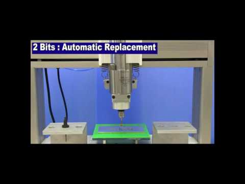 [Desktop Robots] JR3000 Series Automatic Tool Bit Replacement