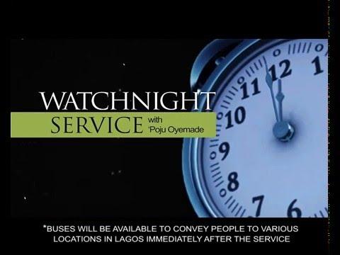 Watch night service youtube
