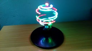 DIY LED globe, Guidelines do simple LED globe