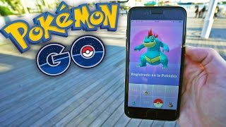 INCREIBLE ES FERALIGATR!!! Pokemon GO c/ Trainer Tips - [LuzuGames]