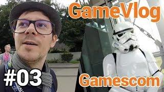 GameVlog spécial Gamescom #3 : Unboxing du petit déjeuner et conférence Electronic Arts
