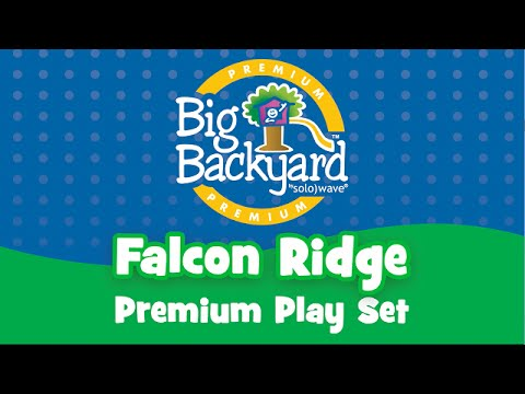 Falcon Ridge Play Set By Big Backyard