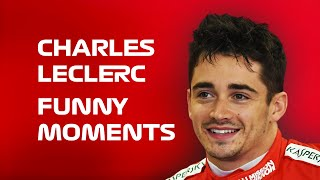 Charles Leclerc - Funny Moments