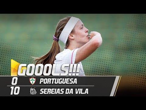 Portuguesa 0 x 10 Sereias da Vila | GOLS | Paulistão Feminino (03/06/18)