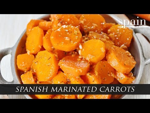 Spanish Marinated Carrots - Zanahorias Aliñadas Recipe