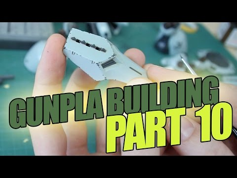 170 - Gunpla Building Part 10: Chipping Weathering Technique