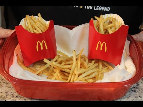 Make Perfect McDonald's French Fries at Home!