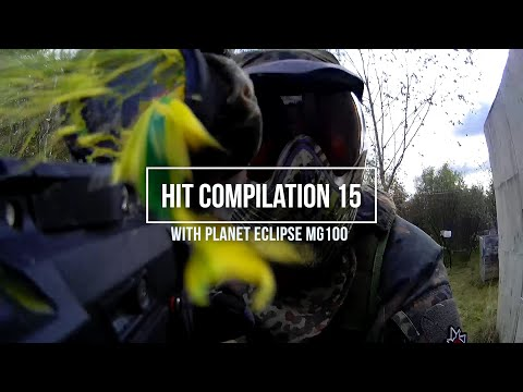 Hit Compilation 15 with Magfed MG100 - Finnish Magfed Paintball