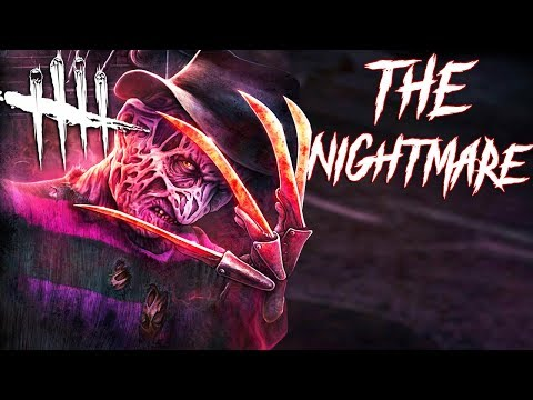 Dead  Daylight: Playing As FREDDY KRUEGER For The First Time The Nightmare Gameplay