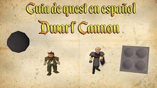 OSRS07 | Guia de Quest en Español | Dwarf Cannon Quest