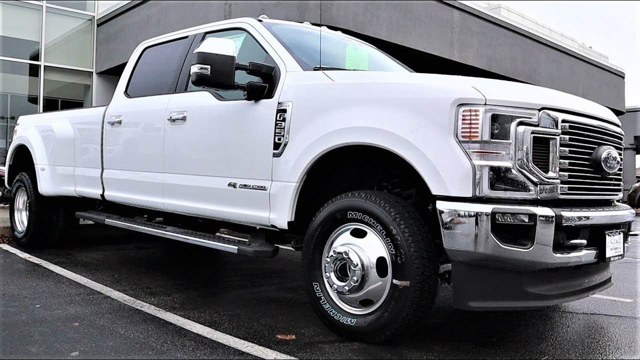 2020 Ford F-350 Lariat Dually: Can This Truck Really Tow ...