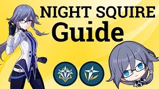Night Squire (Butler) Fu Hua Character Guide - HONKAI IMPACT 3