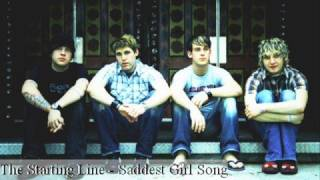 The Starting Line - The Saddest Girl Story