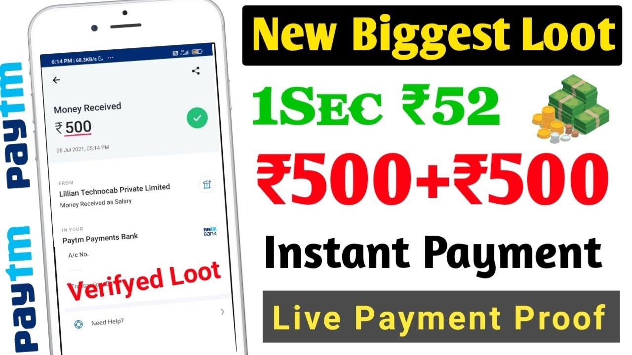 Earn ₹500 New Earning App 2021 Today || Earn Money Online From Mobile || New Earning App Today 2021