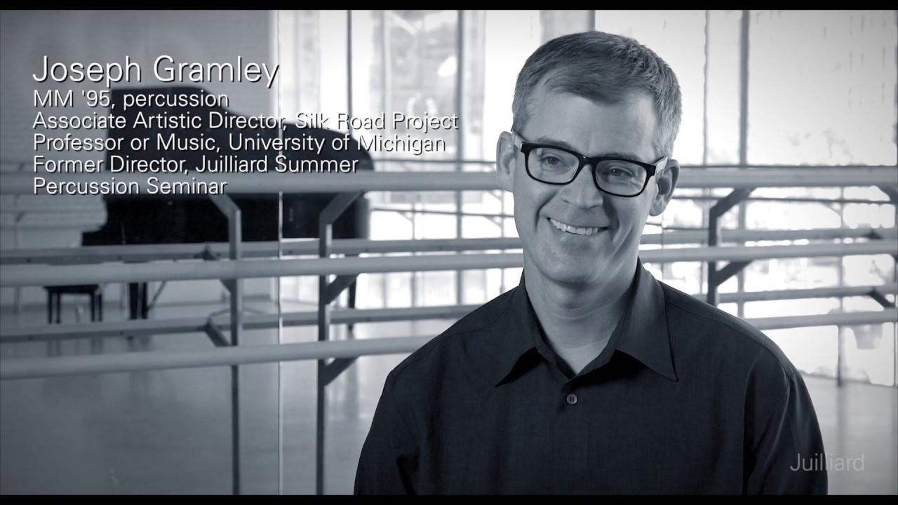 Juilliard Snapshot: Joseph Gramley on the Summer Percussion Seminar