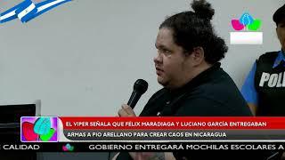 El Viper: Félix Maradiaga y Luciano García entregaban las armas a Pio Arellano para crear caos
