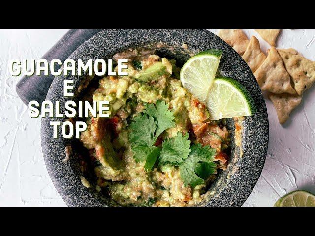 Guacamole e salsine top