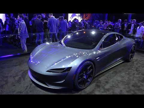 Tesla semi unveil event - part 2: the truck and the next gen roadster!
